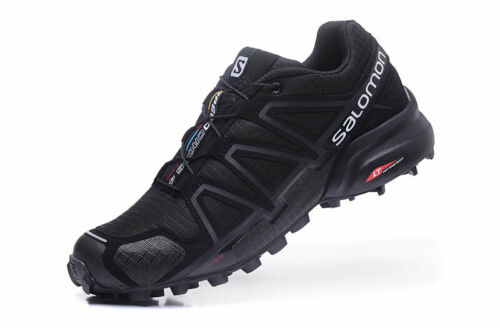 Mens Salomon Speedcross 4 Running Sports Outdoor Hiking Trainers Leisure Shoes