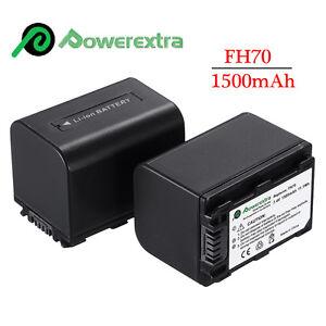 Np Fh70 Battery For Sony Handycam Hdr Cx100 Sr11 Sr12 Sr1