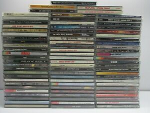 Wholesale Lot Of 80 Assorted ( Metal & Rock ) Music CDs ( MCD#A300 )