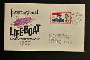 SG639 ordinary International Lifeboat Conference 3151962 Filey CDS FDC - Preston, United Kingdom - SG639 ordinary International Lifeboat Conference 3151962 Filey CDS FDC - Preston, United Kingdom