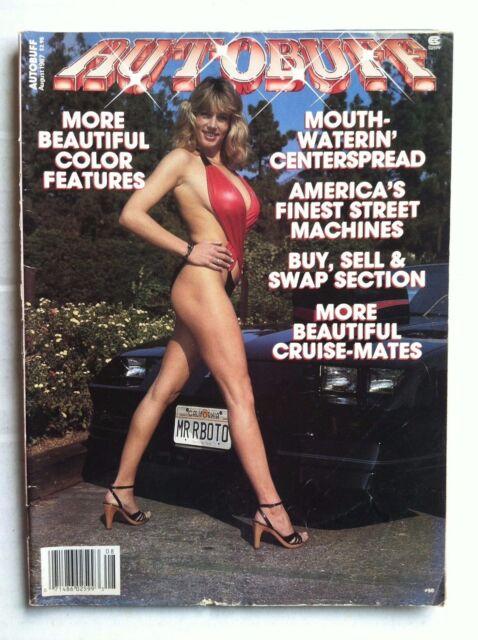 AUTOBUFF MAGAZINE 1987 AUGUST BIKINI SWIMSUIT GIRLS CAMARO FIREBIRD TRANS AM