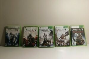 Assassin-039-s-Creed-Games-Xbox-360-Cleaned-and-Tested