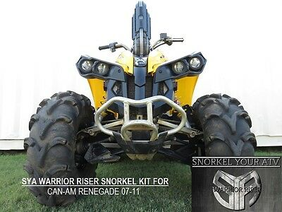 SYA WARRIOR RISER Snorkel kit for Can AM Renegade G1 500 - 800  2007-2011