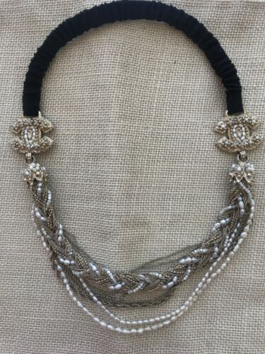Chanel Special Limited Edition Head Piece Headband