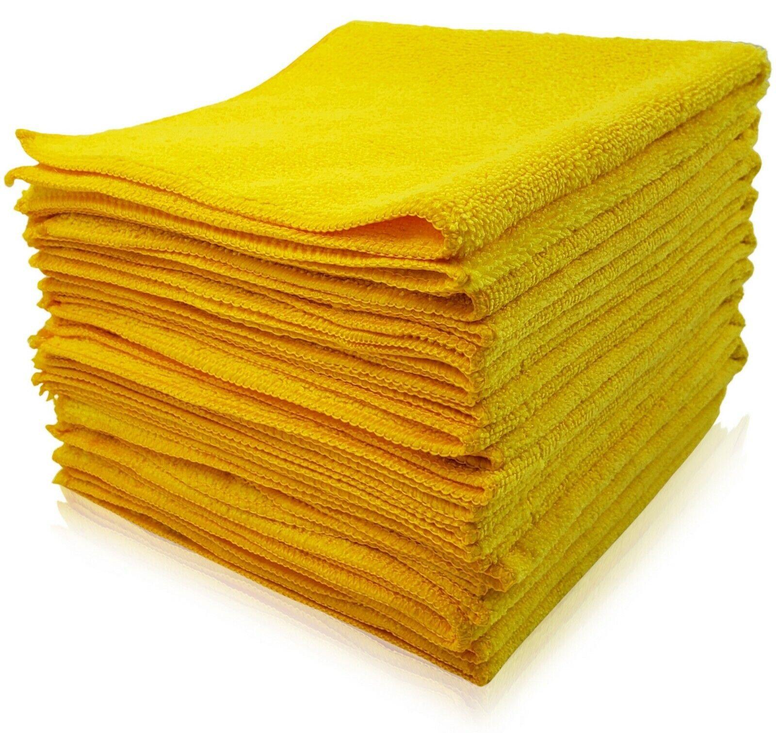 Car Microfiber Cleaning Cloth Towel Rag Polishing No-Scratch Detailing Washing