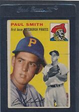 1954 Topps #011 Paul Smith Pirates VG 54T11-30316-1