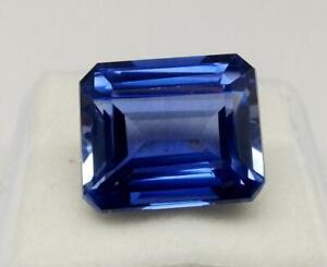 0.71 cts Natural Blue Sapphire Loose Gemstone Emerald Cut