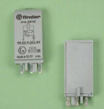 Finder Varistor /& LED Indicator Module 99.02.0.024.98
