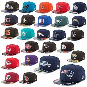 NEW Era Cap 9 fifty Snapback NFL on stage 2017 draft SEAHAWKS PATRIOTS RAIDERS