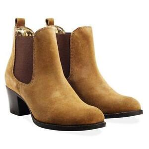 Redfoot-Molly-Chestnut-Ladies-Suede-Ankle-Boots-UK-6-EU-39-JS55-31