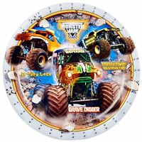 Monster Jam 3d Dinner Plates (8), New, Free Shipping on sale