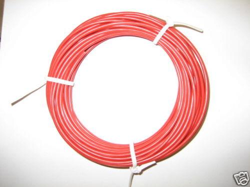KFZ Kabel Litze Leitung FLRy 1,0mm² 10m rot Auto Pkw Lkw Motorrad