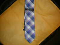 TOMMY HILFIGER MEN'S PLAID TIE NEW