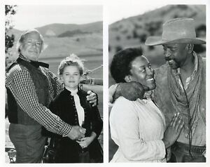 REESE WITHERSPOON OLIVER REED LOUIS GOSSETT LONESOME DOVE 1988 CBS TV PHOTO
