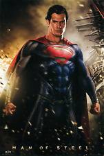 HENRY CAVILL SUPERMAN MAN OF STEEL SIGNED PHOTO PRINT AUTOGRAPH POSTER