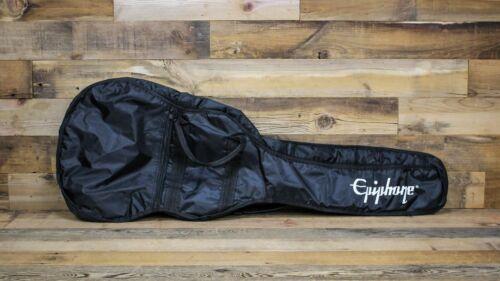 Black Epiphone Padded Nylon Guitar Gig Bag w// Logo