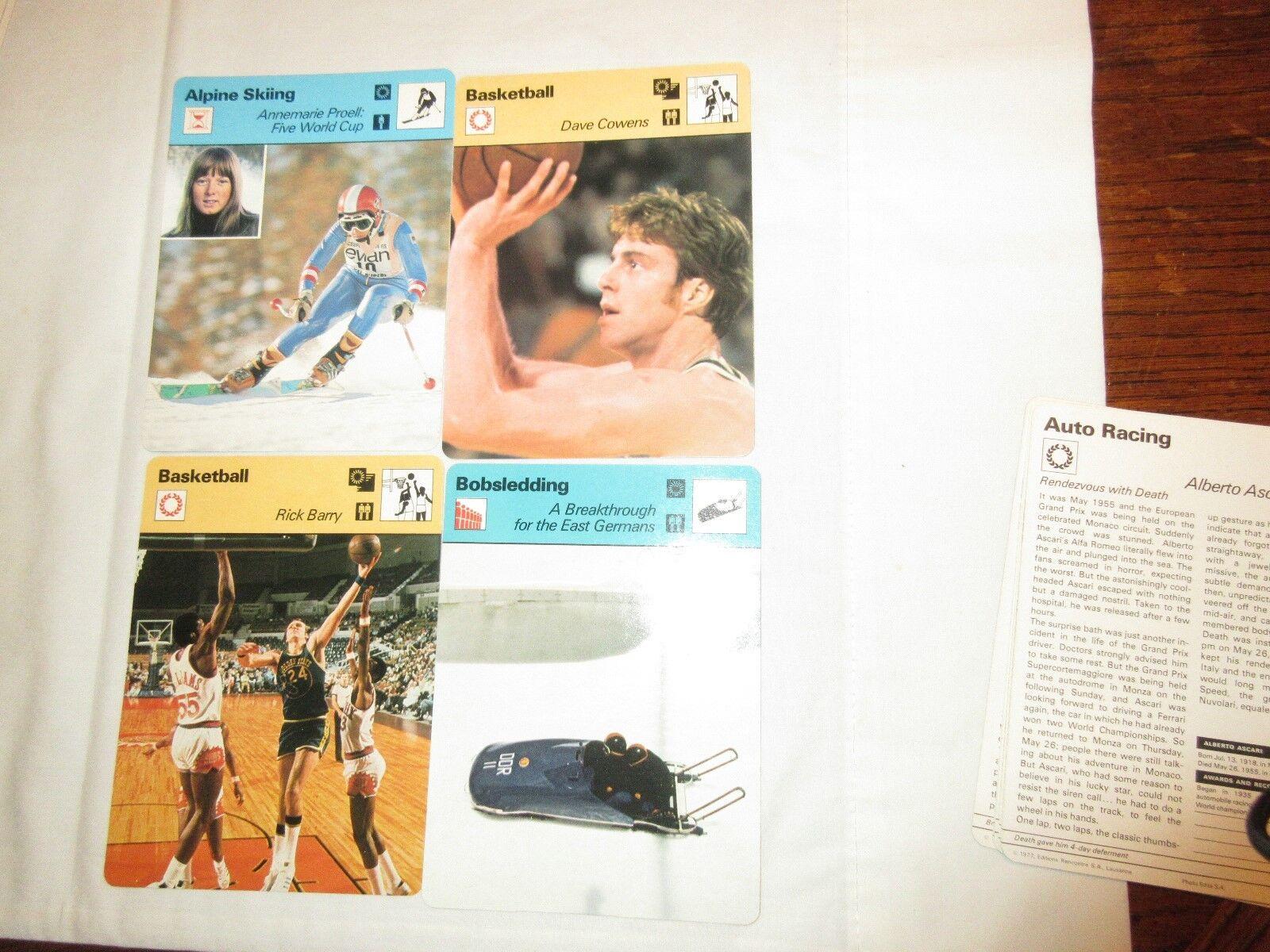 Sportscaster Cards ,1978 ,Deck # 04 ,Cards # 1-24 , Bru