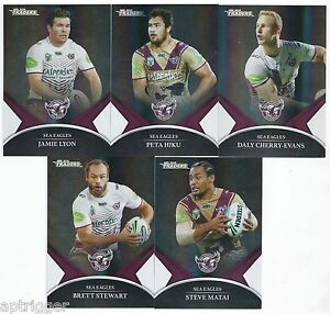 2016-NRL-Traders-Black-Parallel-Special-SEA-EAGLES-Team-Set