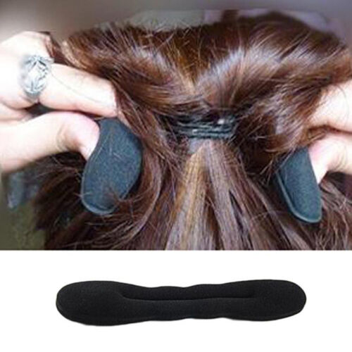3 Pcs Set Hair Fast Bun Magic Foam Sponge Hair Tool Plate Donut Bun-Maker