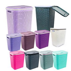 Image Is Loading Large Laundry Basket Washing Clothes Storage Bins Rattan