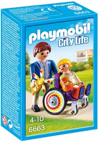 PLAYMOBIL Kind im Rollstuhl 6663 NEU OVP