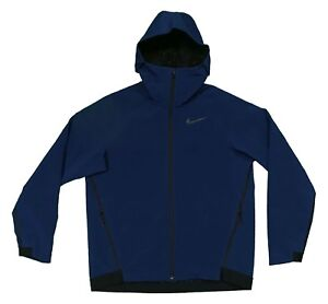 Image is loading Nike-Therma-Sphere-Repel-Winter-Training-Jacket-Hoodie- b8f309e50