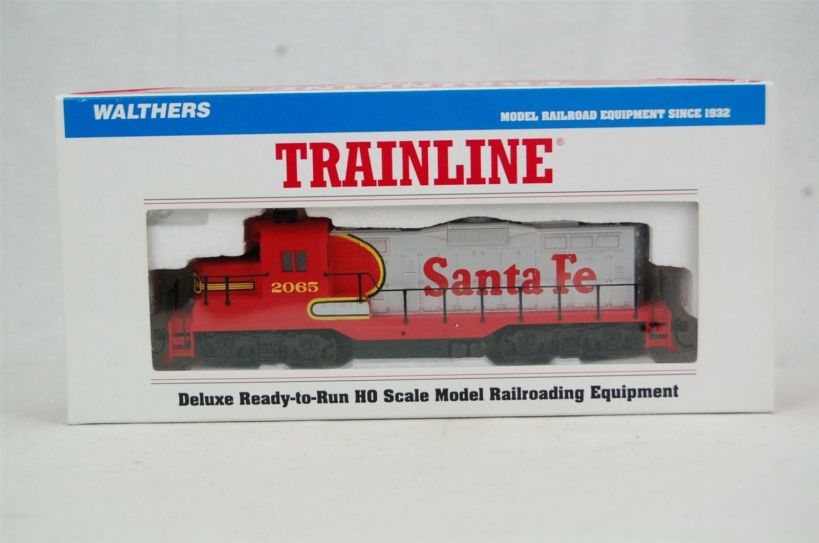 Walthers Trainline Santa Fe  2065 Locomotive Train Engine HO Scale
