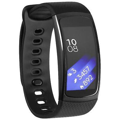 Samsung Gear Fit 2 Smartwatch Fitnesstracker Größen L/S schwarz/blau/pink