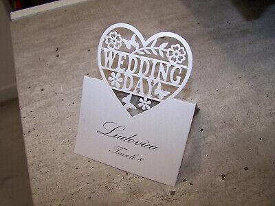 Segnaposto Matrimonio Word.Segnaposto Bianchi Segnaposto Chiesa Matrimonio Carta