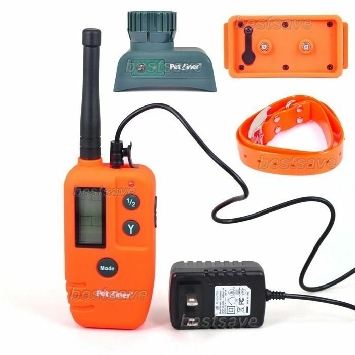 Rechargeable 9 Level 500M Remote Pet Dog Hunter Beeper Trainer Collar Waterproof