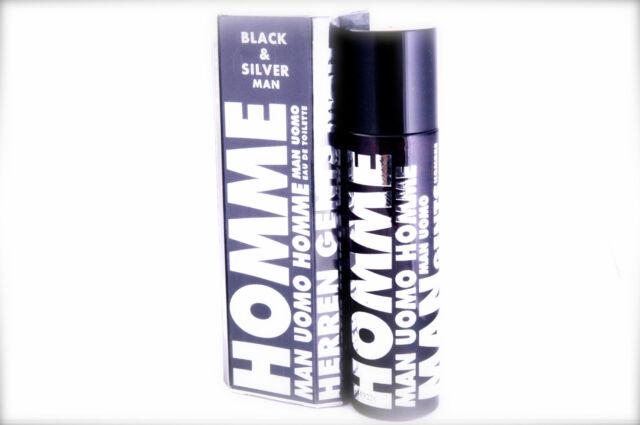 Perfume Homme Black & Silver for Men by Omerta E100 Ml 3 3