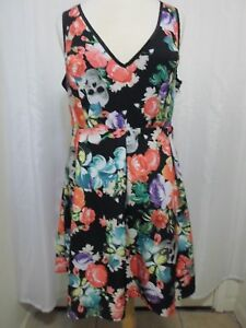 0d051d4b30fa Image is loading Modcloth-Torrid-XXL-Dress-Skull-Floral-Roses-Pinup-