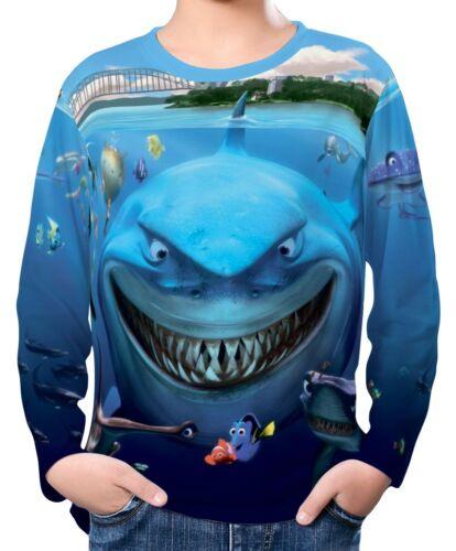Finding Nemo Boy Kid Long Sleeve T-Shirt Tee Age 3-13 ael30143