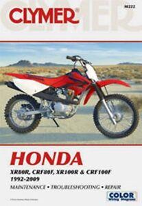 clymer repair service shop manual honda xr100r 92 03 xr80r 93 03 ebay rh ebay com 2001 XR100 Graphics 2001 honda xr100 service manual