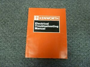 1989 1990 kenworth w900b truck electrical troubleshooting kenworth w900 wiring schematic kenworth w900b wiring diagram #14