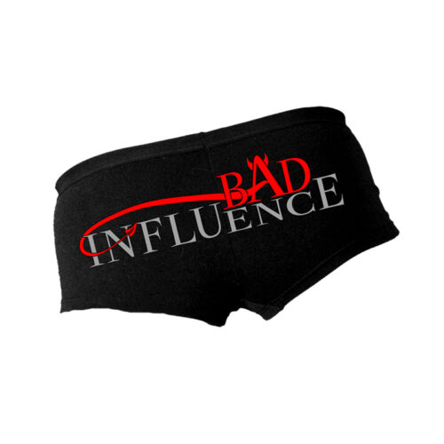 Hot Leathers Bad Influence Ladies Boy Shorts Panties in Medium