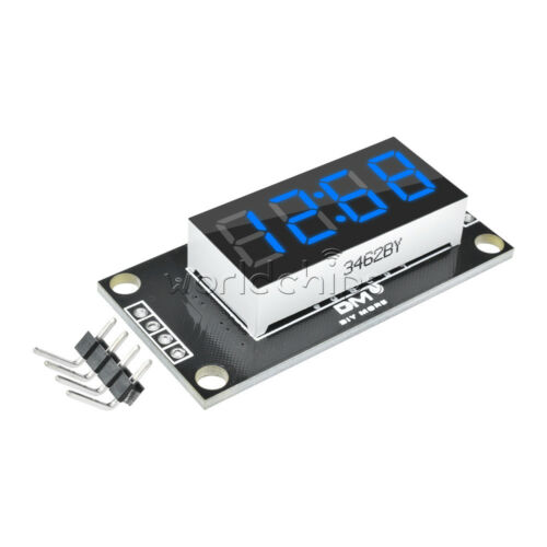 "Blue TM1637 0.36/"" inch 7-Segment 4-Digit LED Display Clock LED Tube Module"