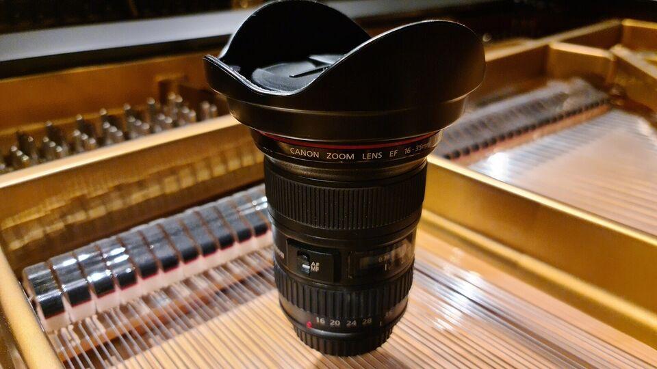 Zoom 16-35, Canon, Canon EF 16-35mm f/2.8L II USM
