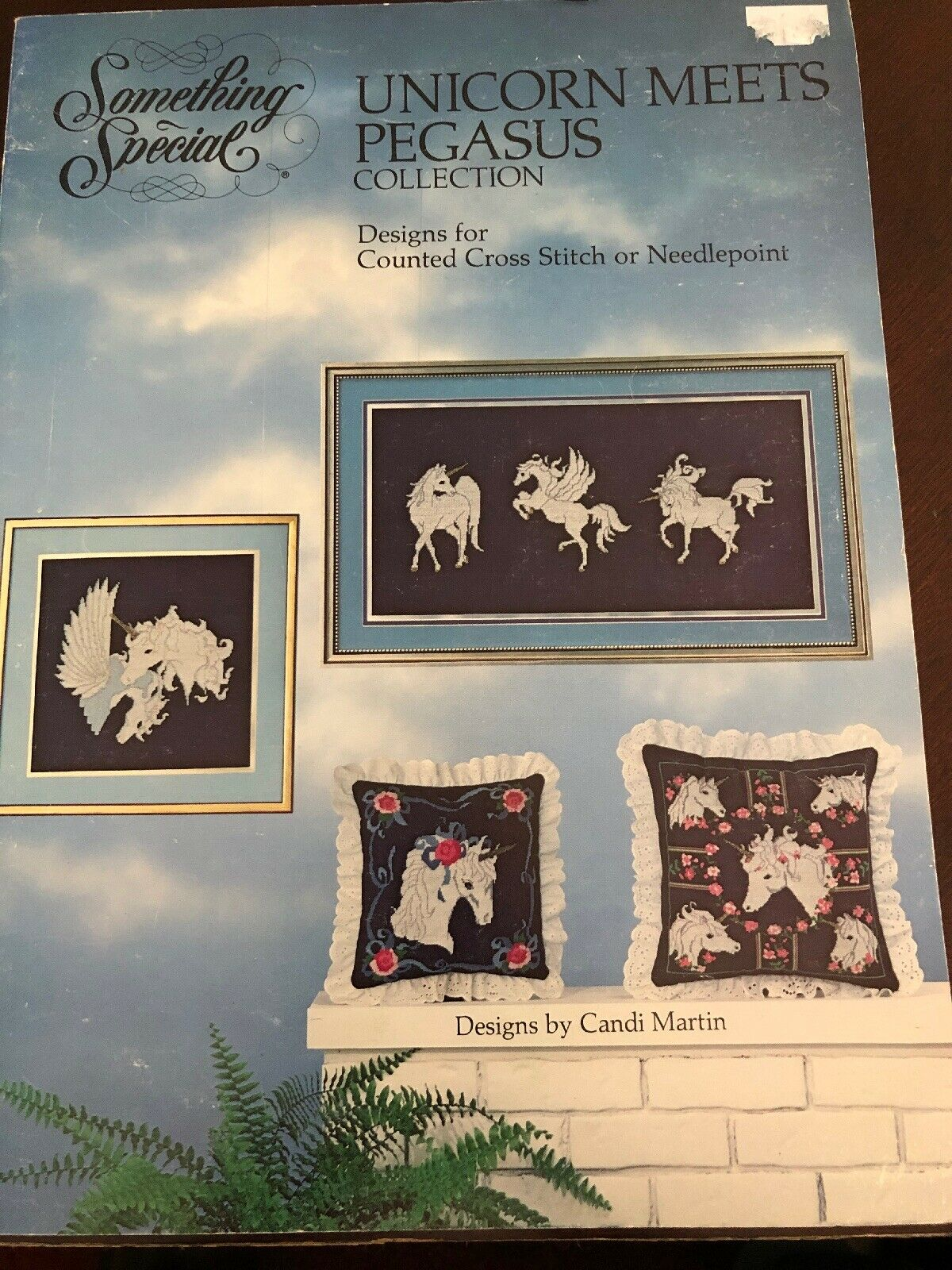 Designs Unicorn collection in counted thread cross stitch and needlepoint