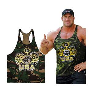 Camiseta-de-Tirantes-Culturismo-Fitness-Deporte-Gimnasio-Militar