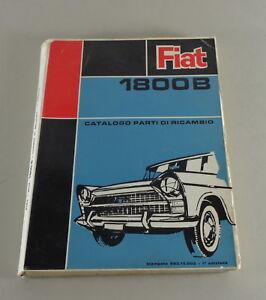 Catalogo-de-Piezas-Catalogo-Partes-Di-Ricambio-Fiat-1800B-Von-06-1963