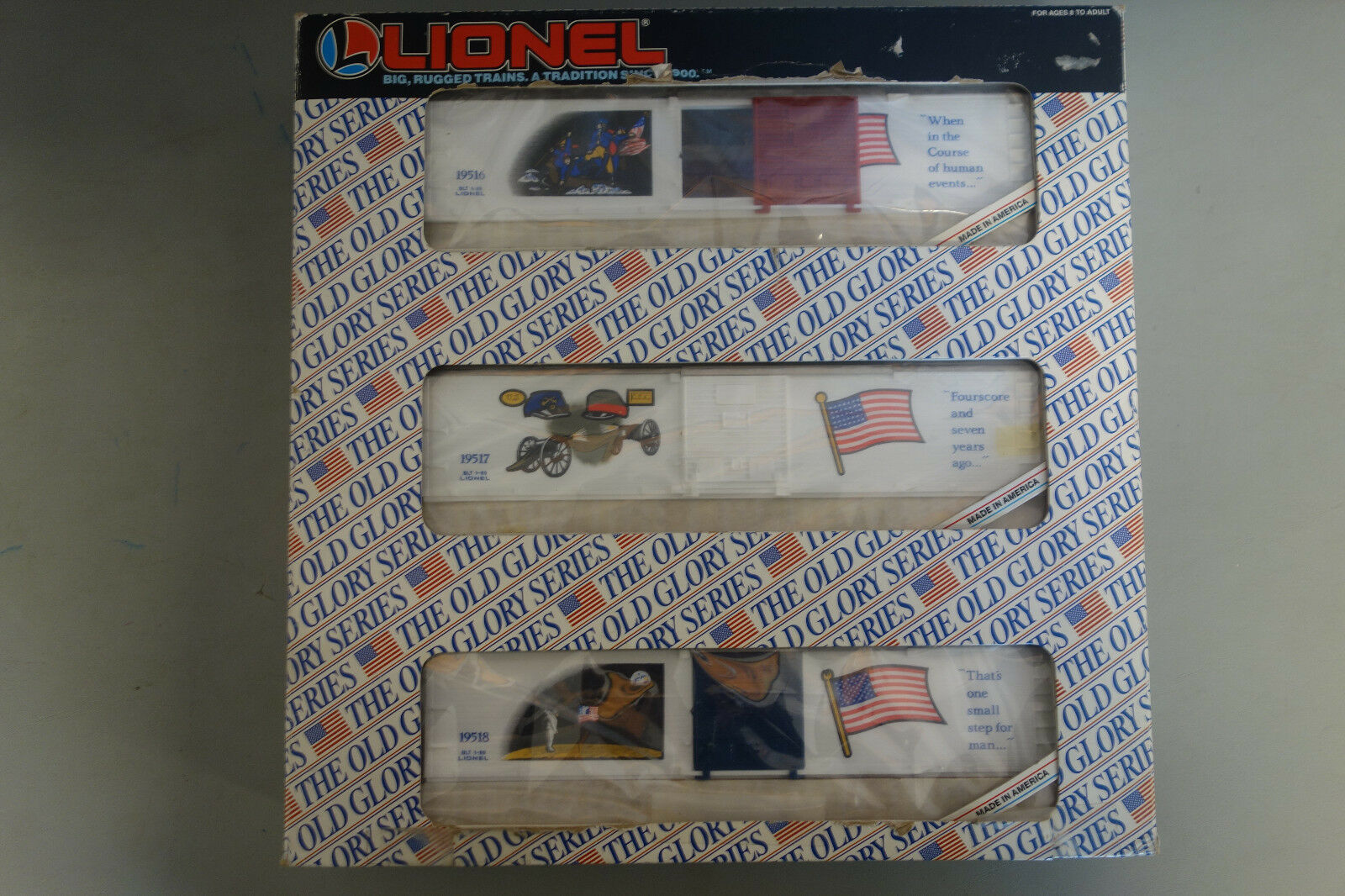 Lionel The Old Glory Series