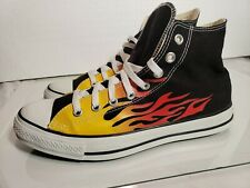 Vintage Converse All Star Chuck Taylor Hot Rod Flame High
