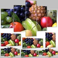 Leinwandbild Canvas Bild Wandbilder Keilrahmenbild Für Die Küche Frisches Obst