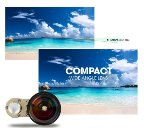 Surpass-i New  Compact Wide Angle Lens for iPhone iPad /& GALAXY