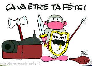 Détails Sur Carte Postale Tipsy Bonne Fête ça Va être Ta Fête Humour
