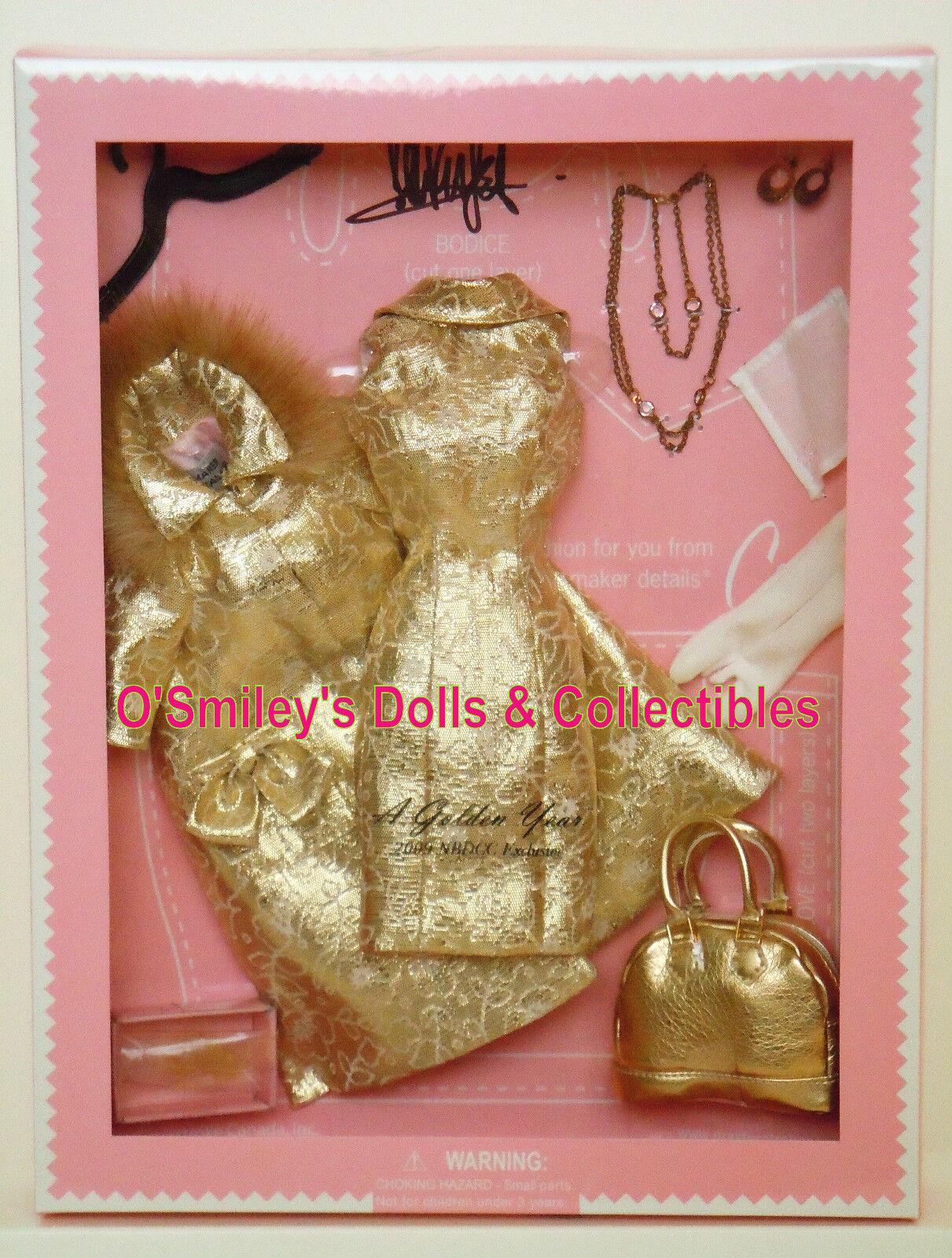 Modisto Detalles De oro Año   2009 nbdc Barbie Convenio Htf le1200_nrfb