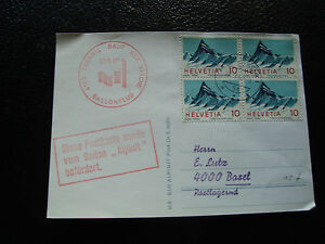 Switzerland-Card-27-8-1967-Ballonflug-cy22-Switzerland