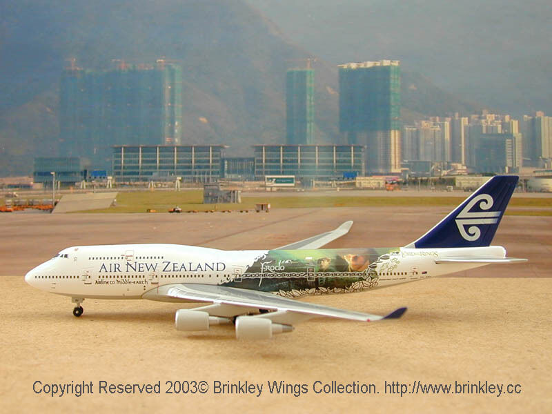 Air New Zealand Airlines B747-419 (ZK-NBV), 1 400