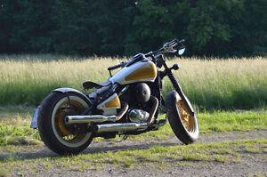 150-mm-breiter-runder-Bobber-old-school-Stahl-Fender-fuer-Kawasaki-Vulcan-VN800